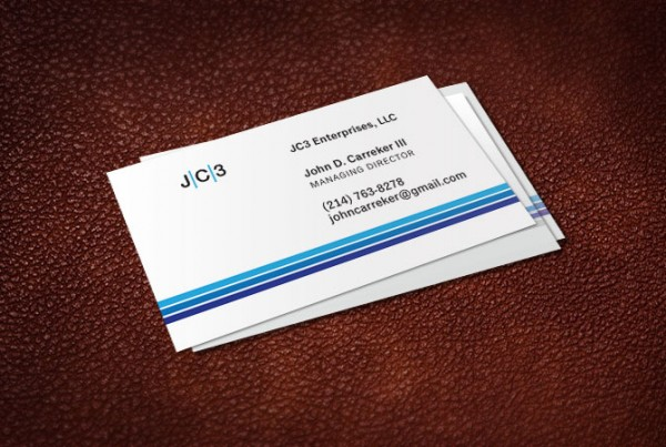 Johnn Carreker business card