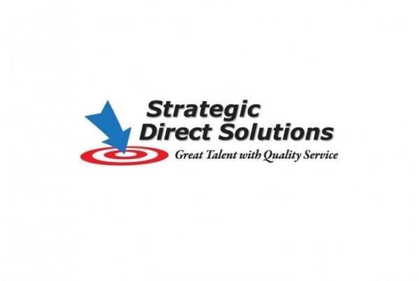 custom logo for strategic direct solutions