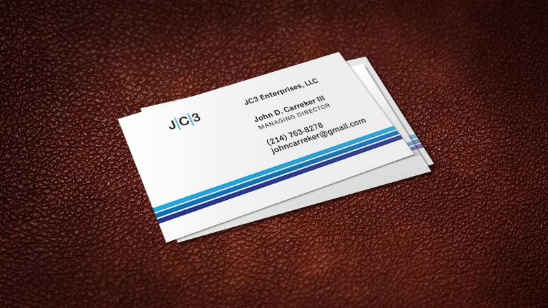 Johnn Carreker business card